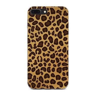 Lopard Apple iPhone 7 Plus Kılıf Leopar Kapak Renkli